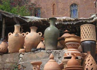 Ancient Roman sites Colourful characters Blue city of Rabat Pottery and carpets everywhere and the glorious