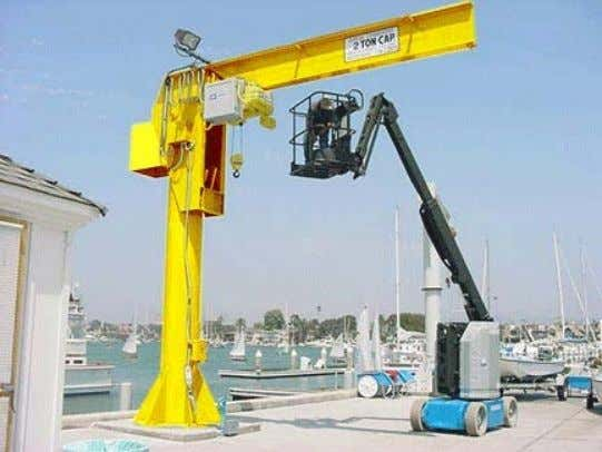 also be post (mast) mounted to create a free standing crane Rev. 04/22/2014 Overhead Crane Safety