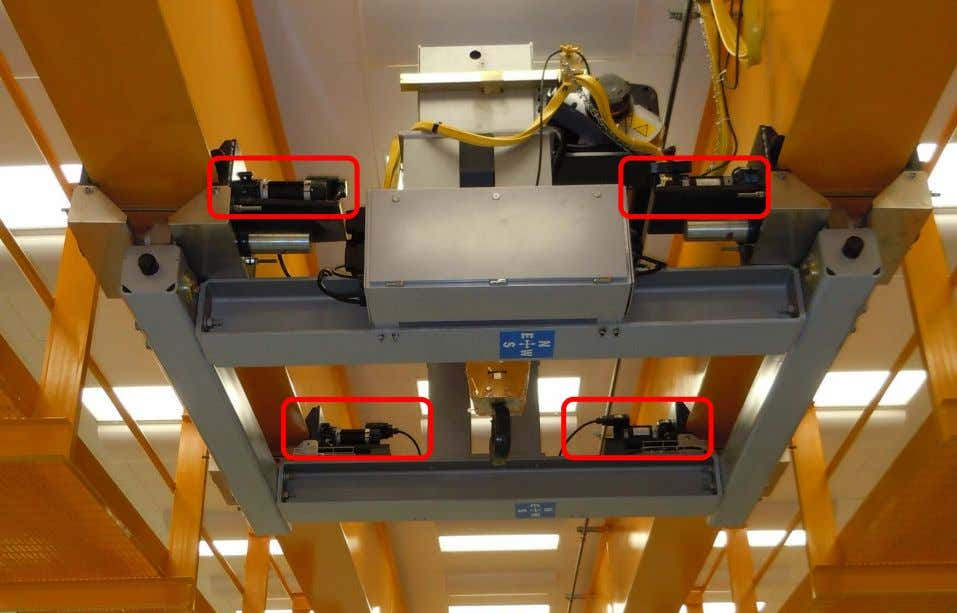 There are 4 trolley brakes, one at each drive wheel Rev. 04/22/2014 Overhead Crane Safety Lecture