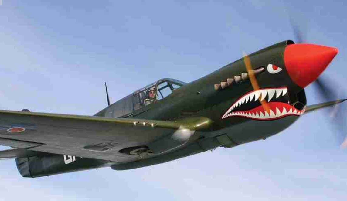 GMO to Italy but before their P-40s were replaced by Mustangs. The P-40s of 112 Sqn