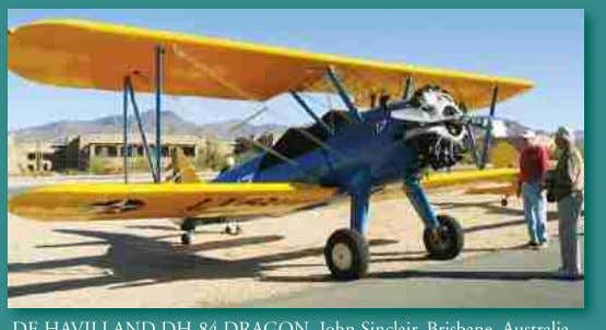 "and flew it again on Feb 15, 2006."". GMO ""The DE HAVILLAND DH-84 DRAGON. John Sinclair,"