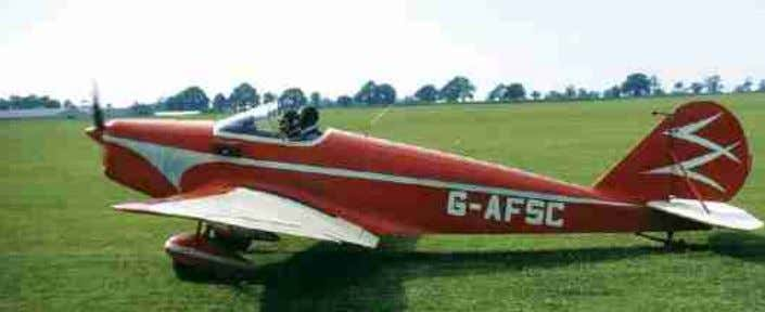 and is now owned by David Forshaw at Panshanger, UK. Trainer I c/n 12 Built by