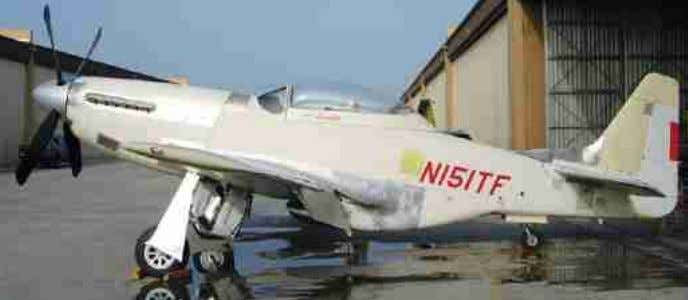 was operated for over 30 years by Jack Kistler and flew in a polished natural metal