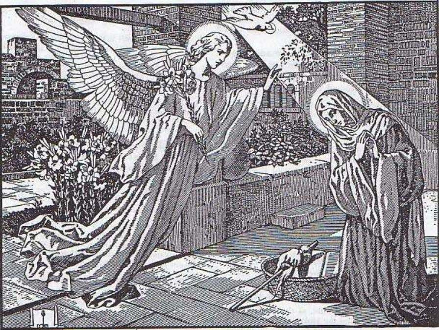"The Incarnation (Third Article of the Apostles' Creed.) ""Now in the sixth month the angel Gabriel"