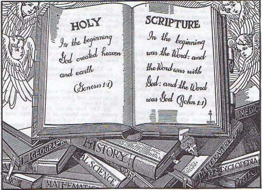 8. Holy Scripture, or The Bible The Bible is the best Book in the world. It