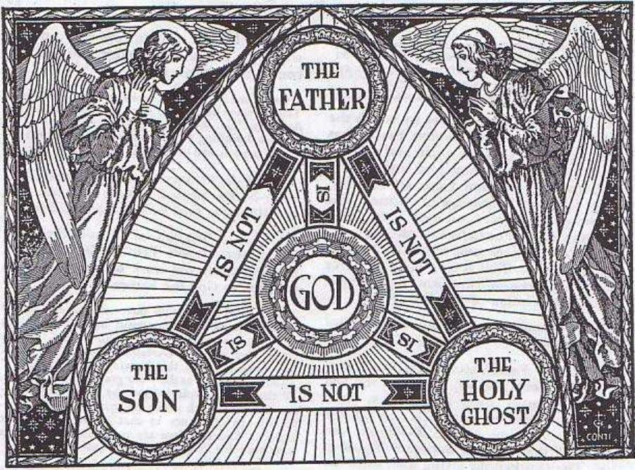 11. One God in Three Persons A good concrete illustration of the Blessed trinity is an