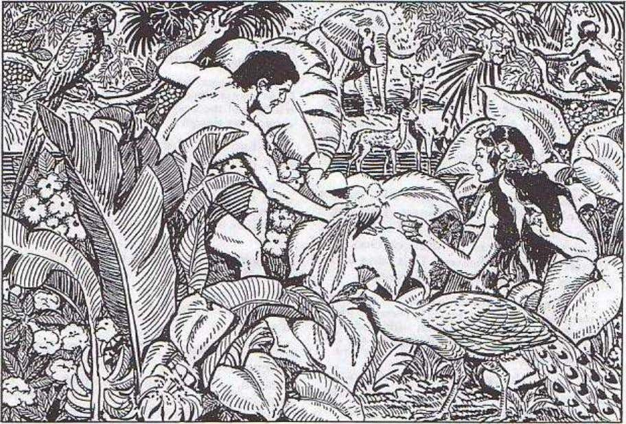 18. Adam and Eve: Our First Parents Our first parents were perfectly happy in Paradise. If