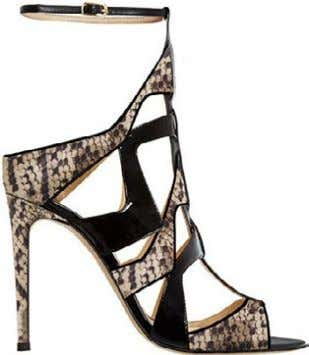 1 4 7 2 5 8 3 6 SPECIAL | SHOES animal 1. Ayers Snake Strappy