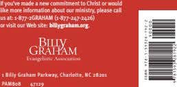 If you've made a new commitment to Christ or would like more information about our