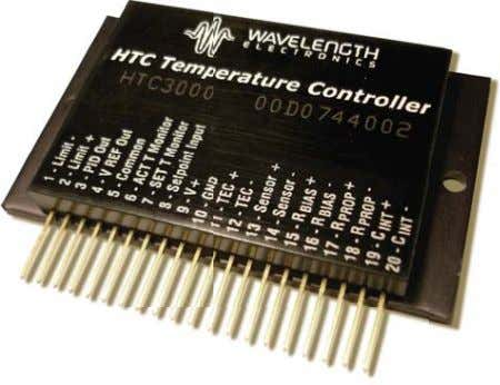 Temperature • Supports thermistors, RTDs, and IC sensors Size: 2.7 x 1.6 x 0.34 in (41