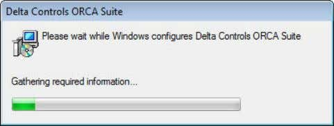 7. Copying and Configuring Delta Controls ORCA Suite Files Total Pages in this Section: 46 ORCAview