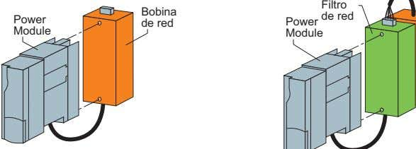 Filtro Bobina de red Power de red Power Module Module