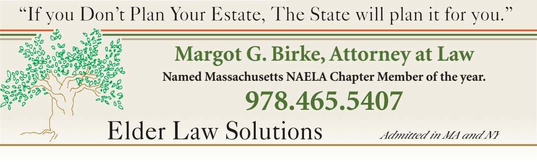 """If you Don't Plan Your Estate, The State will plan it for you."" ""If you"