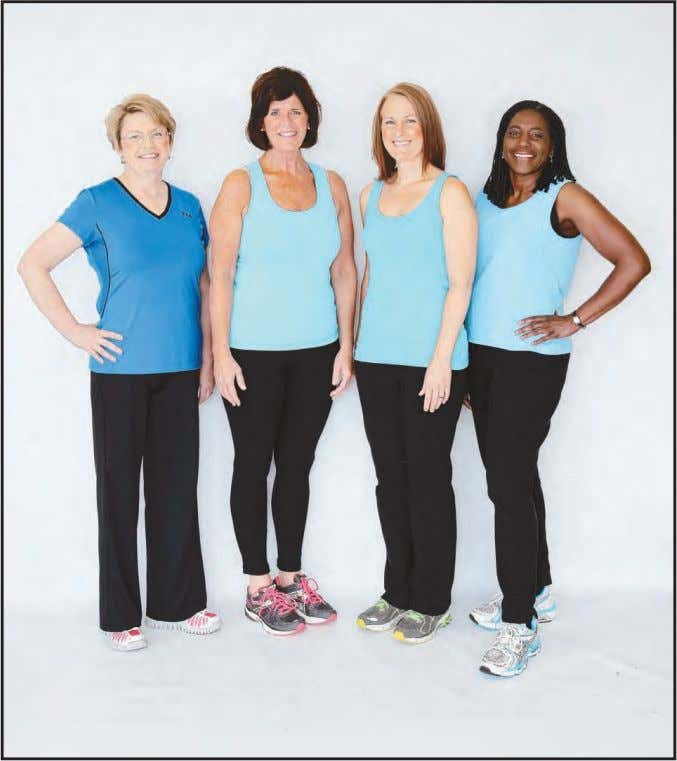 September 27, 2013 Find success at Get In Shape for Women Donna Attenborough, Ali Scarry, Kelly