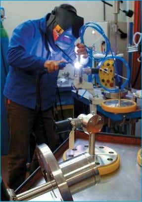 Engineering AS & Schlumberger). Custom built transmitter TIG welding : TIG (Tungsten Inert Gas) welding technology