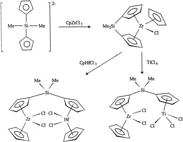 Coordination Chemistry Re iews 181 (1999) 243–296 255 Fig. 13. Synthesis of binuclear complexes from Me