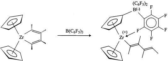 based on the bis(cyclopentadienyl) framework increase, Fig. 18. Electrophilic ring substitution by B(C 6 F 5