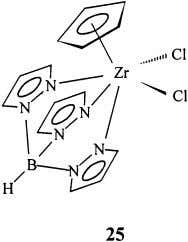 also polymerization active when cocatalyzed by MAO [64]. Borabenzene anions are isolobal with the cyclopentadienide