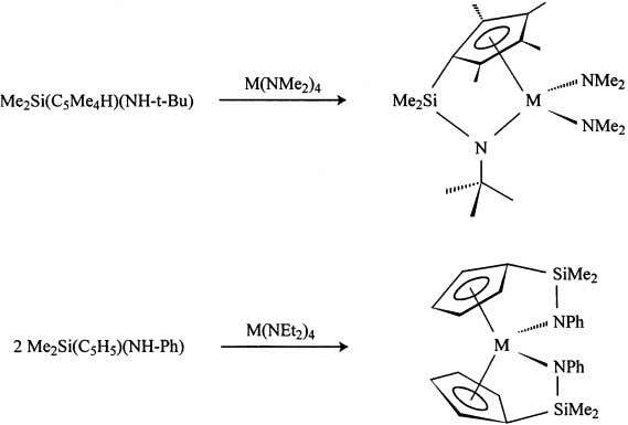 Coordination Chemistry Re iews 181 (1999) 243–296 249 Fig. 8. Reactions of Zr(NMe 2 ) 4