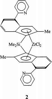 as their amine precursors and are air- and water-stable. Ferrocenyl cyclopentadienyl groups have been reacted with