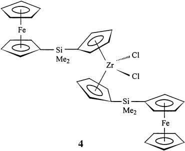 C + ) and terpolymerizes ethylene, propylene, and diene more efficiently than the unsubstituted zirconocene [26].