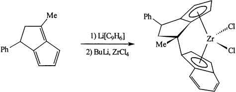 / Coordination Chemistry Re iews 181 (1999) 243–296 Fig. 10. Synthesis of ansa zirconocene form