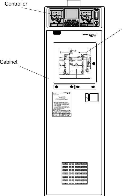 option for use with cylinders containing liquefied gases. Figure 2-1: Gasguard 450 cabinet Air Products and