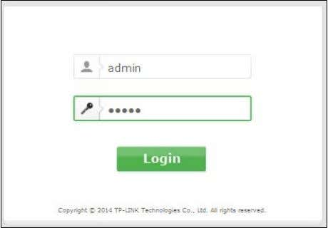 Then click the Login button or press the Enter key.  Note: Figure 3-4 Login Windows