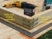 to 9 ft, for use as the ridge pole. Top of page Framing Corner Alignment (5)