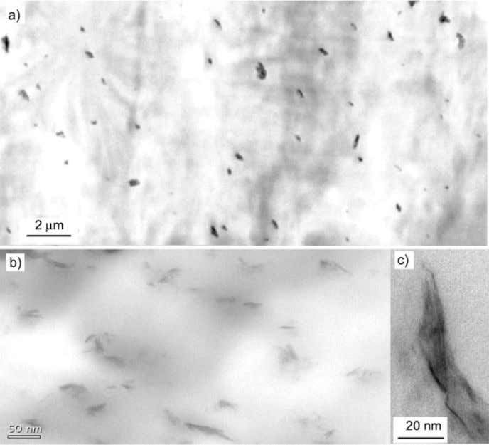 POLYPROPYLENE/CLAY NANOCOMPOSITES 1217 Figure 3 TEM micrographs of UD-treated clay PP nanocomposites (a) and UD-treated