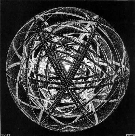 What Is Science? Concentric Rinds (Concentric Space Filling/Regular Sphere Division). Maurits Cornelis Escher 21