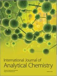 International Journal of Analytical Chemistry Hindawi Publishing Corporation http://www.hindawi.com Volume 2014