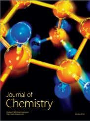Journal of Chemistry Hindawi Publishing Corporation http://www.hindawi.com Volume 2014