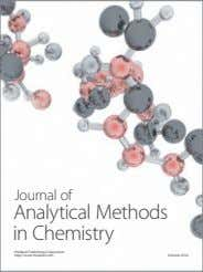 Journal of Analytical Methods in Chemistry Hindawi Publishing Corporation http://www.hindawi.com Volume 2014