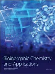 Bioinorganic Chemistry and Applications Hindawi Publishing Corporation http://www.hindawi.com Volume 2014
