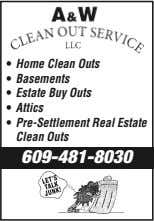 • Home Clean Outs • Basements • Estate Buy Outs • Attics • Pre-Settlement Real