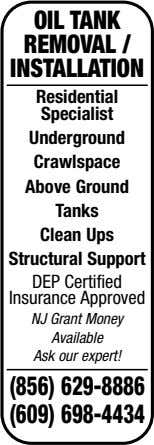 OIL TANK REMOVAL / INSTALLATION Residential Specialist Underground Crawlspace Above Ground Tanks Clean Ups