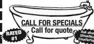 CALL FOR SPECIALS Call for quote RATED #1