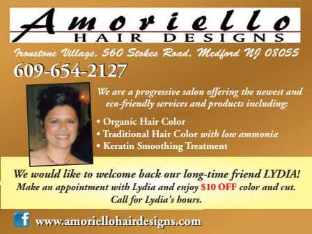 Ironstone Village, 560 Stokes Road, Medford NJ 08055 609-654-2127 609-654-2127 We are a progressive salon