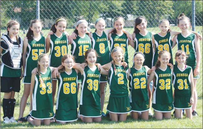 Sixth-graders take second in tournament Special to The Sun Seneca Youth sixth-grade girls' lacrosse team took