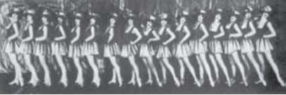 Fig. 22 The Tiller Girls in Berlin, 1920s. The mass ornament is the aesthetic reflex