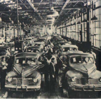 Fig. 23 Automobile assembly line. 200 easy ways of payment and regular analysis form the