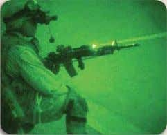 standard Close Quarter Battle (CQB) sight for small arms. Complete suite of night vision and electro-optical