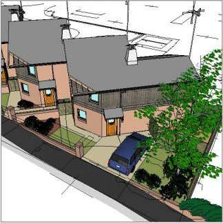 5. Landscaping The areas of publicly visible landscaping follow the existing houses use of low