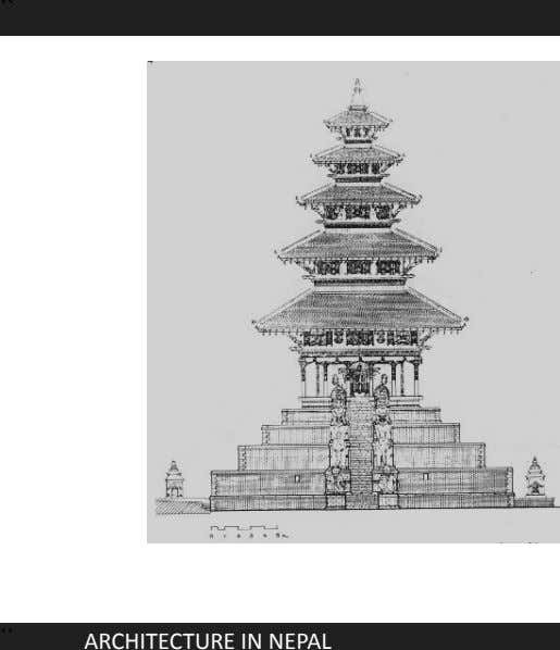`` ELEVATION `` ARCHITECTURE IN NEPAL