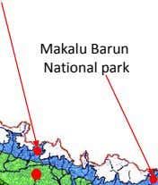 Makalu Barun National park