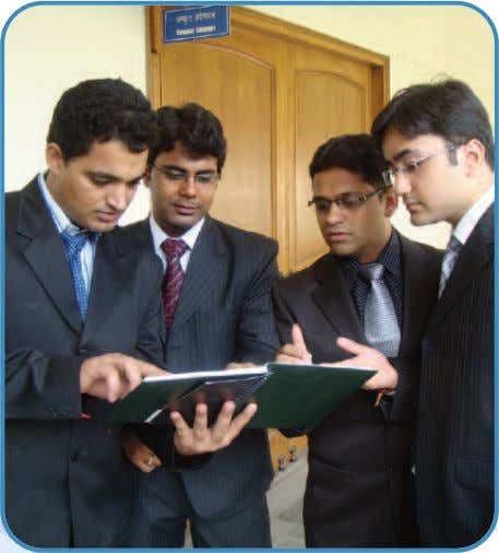 Two-year residential program • Extensive student-faculty interaction • Intake through JMET, common for all IITs. 6