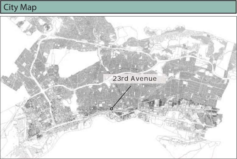 City Map 23rd Avenue