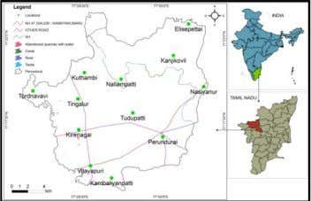 RESULTS Figure 4. Shows the location map of the study. Figure 4 Location map Figure 5.Shows