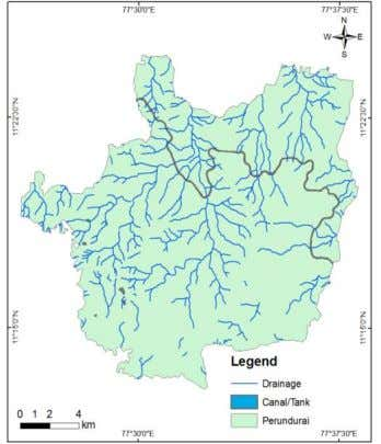 11. Shows the drainage map of the study ISSN 2278-6856 Figure 11 Drainage map Figure 12.
